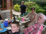 BBQ at the Robinsons