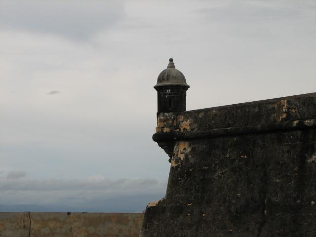 Turret at El Morro